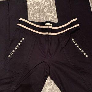 Maxazria Navy Sailor Pants